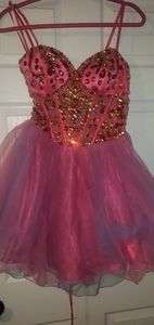 Dave and Johnny prom dress.